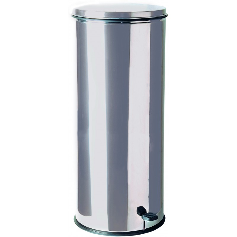 Poubelle inox p dale 50 litres - Poubelle cuisine pedale 30 litres ...