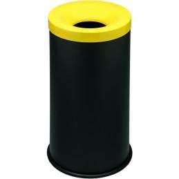 Corbeille anti-feu tri-sélective 50 litres
