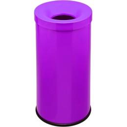 Corbeille anti-feu couleur 50 litres 'lit de vin'