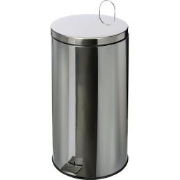 Poubelle HACCP inox à pédale 40 litres