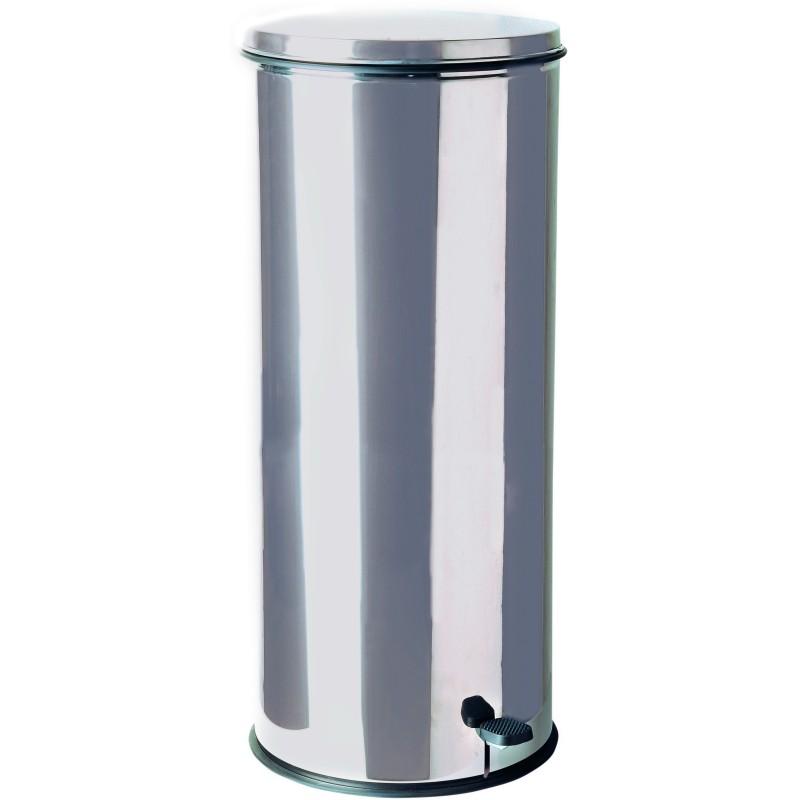 poubelle inox à pédale 50 litres