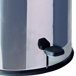 Poubelle HACCP inox à pédale 70 litres