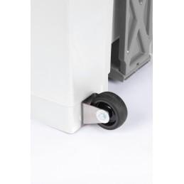 Roulette pour Conteneur plastique à pédale 70 ou 90 litres
