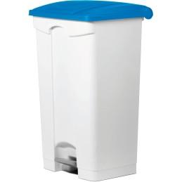 Conteneur plastique à pédale 90 litres