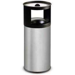 Corbeille cendrier inox à sable anti-feu 40 litres