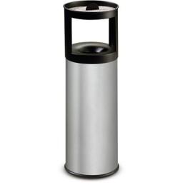 Corbeille cendrier inox à sable anti-feu 25 litres
