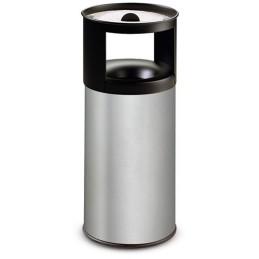 Corbeille cendrier inox à sable anti-feu 75 litres