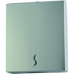 Distributeur d'essuie mains inox 304 – 400 feuilles