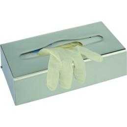 Distributeur de gants ou mouchoirs inox