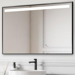 Miroir LED TOP cadre aluminium
