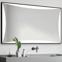 Miroir LED cadre alu Loren...