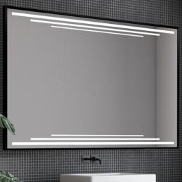 Miroir LED cadre alu 3D...