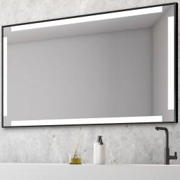 Miroir LED encadré 4 lignes...