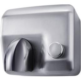 Sèche mains à bouton...