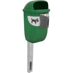 Poteau à enfuire pour corbeille canine 50 litres