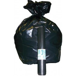 Sacs-poubelles 110 litres noirs par 10