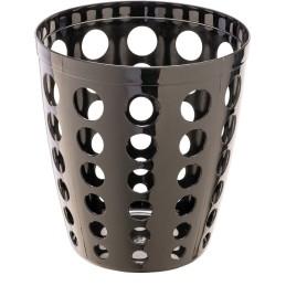 Corbeille à papier perforée design 12 litres