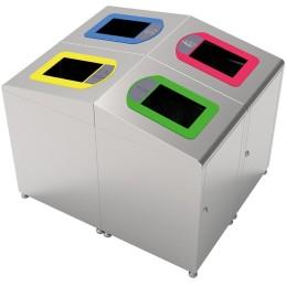 Borne à déchets Koala modulaire 60 litres