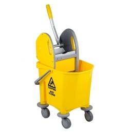 Chariot de nettoyage à 1 seau 25 litres avec presse