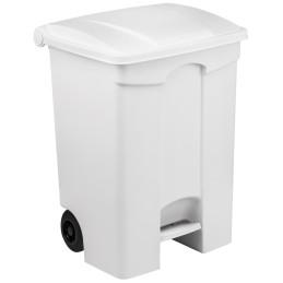 Conteneur mobile à pédale 70 litres avec couvercle