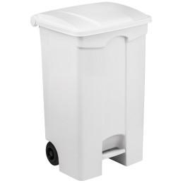 Conteneur mobile à pédale 90 litres avec couvercle
