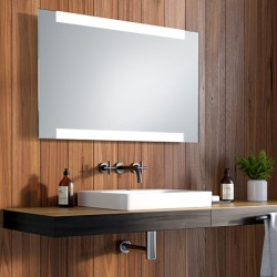 Miroir led top down Doli sur mesures