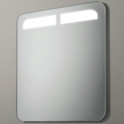 Miroir double led top