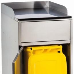 Guide plateau pour collecteur fast food 120 litres