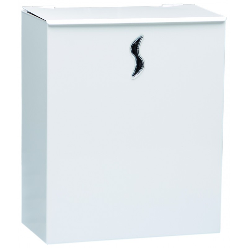 Petite poubelle sanitaire 10 litres blanche