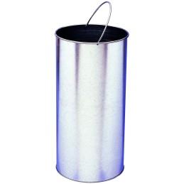 Option seau pour cendrier corbeille luxe à poser 19 litres