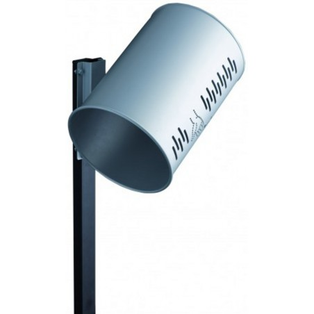 Poteau à sceller pour corbeille cylindrique 22 litres ou rectangulaire 24 litres